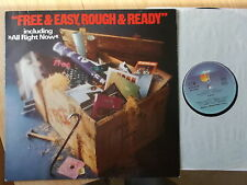 Free LP: Free & Easy, rough & ready (d; re; Island records – 28243 et)