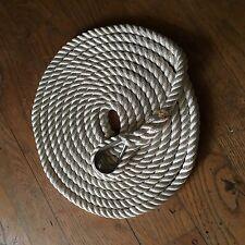 AMARRE Ø16 mm de 7m en polyester haute ténacité avec cosse inox