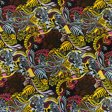African Print Fabric 100% Cotton 44'' wide sold by the yard (90229-3)