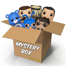 Funko Pop Mystery Box CONTAINING 6 POPS 1 EXCLUSIVE COLLECTIBLE