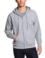 Hanes Mens Full Zip EcoSmart Fleece Hoodie Athletic Sweatshirt Jacket  3XL 7677