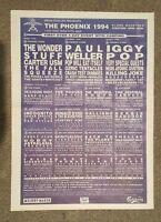 Phoenix Festival 1994 press advert Full page 30 x 42 cm mini poster