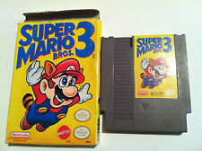 Super Mario Bros. 3 (Nintendo Nes, 1990) Box  (En/Fr) Can Vintage Video Game