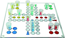 OOTB 79/3943 Ludo Drinking Game with 16 Glasses/2 Dices