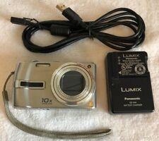 Panasonic LUMIX DMC-TZ3 7.2MP Digital Camera - Black 10X Opt.Zoom~~Nr Mint~~