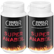2X SUPER ANABOL - 200 Kapseln / bestes Anabolika / Testosteron - Muskelaufbau