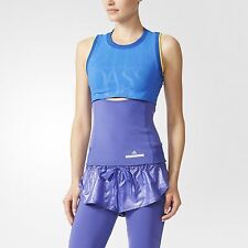 STELLA McCARTNEY x ADIDAS AA7406 Run PERFORMANCE Tank TOP Light Blue / Lilac