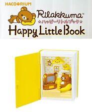 RE-MENT Hakorium Rilakkuma Happy Little Book Toy Figure 2 Living Room Kiiroitori