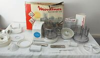 MOULINEX MASTERCHEF 370 Food Processor Blender Slicer Chopper Grater Boxed