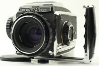 [Near Mint-] Zenza Bronica C2 + Nikon Nikkor 75mm f2.8 + Hand Grip from Japan
