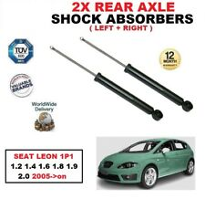 REAR LEFT RIGHT SHOCK ABSORBERS for SEAT LEON 1P1 1.2 1.4 1.6 1.8 1.9 2.0 2005->