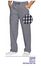 Trousers Cook Chef Pizza Chef Isacco Cotton Chef Trousers Reactvive Dye 044649