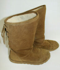 Bearpaw Boots Women's Size 6 (Euro 37)  Brown Suede - WARM!