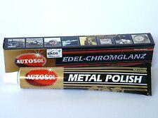 (7,97 €/100 Ml) 1x Autosol ® Chrome Vernis Edel chrome brillant 75 ml Métal Nettoyant