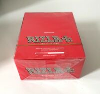 RIZLA RED KING SIZE / SLIM CIGARETTE ROLLING PAPERS ORIGINAL 5,10 & 20 BOOKLETS