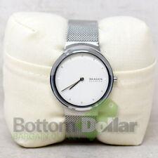 Skagen SKW2823 Women's Steel-Mesh Wrist Watch Silver