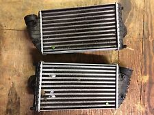 02 03 04 05 PORSCHE 911 996 TURBO OEM LEFT & RIGHT INTERCOOLERS INTER COOLERS B2