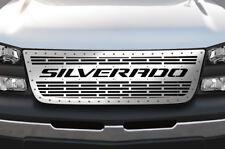 Custom Steel Grille SILVERADO Kit fits Chevy Silverado 1500/2500 2003-2007 Grill