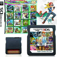 208/482/520 In 1 DS Game Games Cartridge Fit For NDS NDSL NDSI 3DS 3DSLL/XL