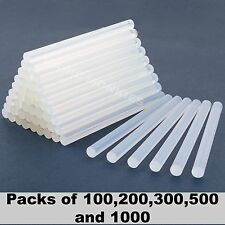 Hot Melt Glue Gun Sticks Clear Adhesive PVA Sticky DIY Mini Craft 7mm 100 Pack