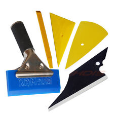 5in1 Window Tint Wrapping Tool Vinyl Sheet Squeegee Blue Max Applicator US SHIP