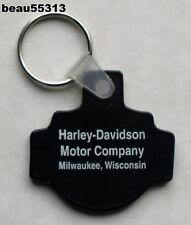 HARLEY DAVIDSON MOTOR COMPANY MILWAUKEE WISCONSIN FACTORY KEY CHAIN FOB