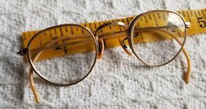 Antique Bausch & Lomb B&L Eyeglasses 1/10 12K GOLD FILLED Ful-Vue