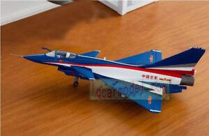 1/72 China J-10 J10 PLAAF airplane Aircraft Metal Diecast Model