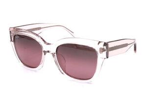 Maui Jim Siren Song RS801-05B Crystal Pink Sunglasses Polarized Maui Rose Lenses