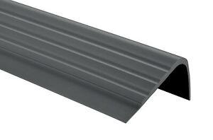 PVC Treppenkantenprofil  Winkelprofil 47x40mm Treppenkante 70-200cm Kantenschutz