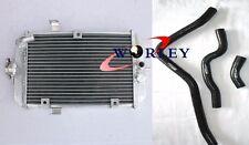 For ATV Yamaha Raptor 660R YFM660R 01-05 2002 2003 2004 Aluminum Radiator + Hose