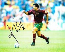 Luis Figo Signed 10X8 Photo Real Madrid & Portugal AFTAL COA (1172)