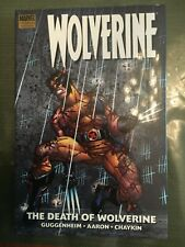 The DEATH Of WOLVERINE HC Graphic Book - Marvel NM