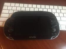 Sony Playstation PSP VITA Black PCH-1003 Portable Used PSVITA