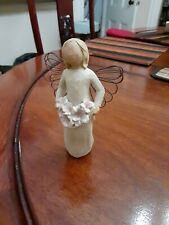 New Listing2001 Willow Tree Figurine ~ Angel of Spring ~ Demdaco ~ Susan Lordi