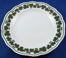 Meissen Porcelain Grape Leaf Design Small Plate Porzellan Teller Weinlaub German