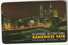Phonecard PAYTEL 1994 Melbourne International Banknote Fair promotional issue