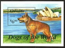 Grenada Stamp - Australian Cattle Dog Stamp - Nh