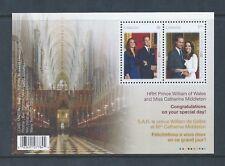Canada Royal Wedding #2465b Souvenir Sheet MNH ** Free Shipping **