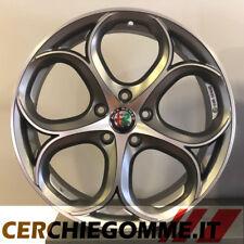 Set 4 Cerchi in lega 18 Alfa romeo Stelvio Giulia Giulietta Veloce Sport Sprint