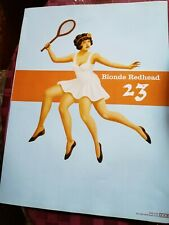 BLONDE REDHEAD PROMO POSTER