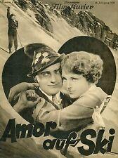 AMOR AUF SKI * BFK #829 - HARRY LIEDKE - Filmprogramm 1928