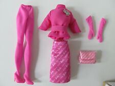 PROUDLY PINK SILKSTONE BARBIE COMPLETE OUTFIT ONLY