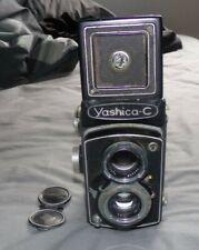 Yashica C Twin Lens Reflex TLR 120 6x6 Film Camera