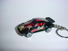 NEW 3D BLACK PORSCHE 930 SLANTNOSE CUSTOM KEYCHAIN keyring key race fast SPEED