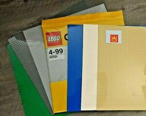 Lego®/Wange® classic city Grundplatten, baseplates Bauplatten NEU 10701 hellgrau