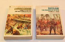 Bataan The march of Death Stanley Falk &  Corregidor James H.Belote