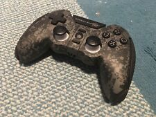 PLAYSTATION 3 PS3 PC WIRELESS CONTROLLER Black Cordless Game Pad CoD MW2 MadCatz