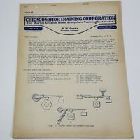 Chicago Motor Training Corporation Lesson No 38 Battery Ignition Ford Ignition