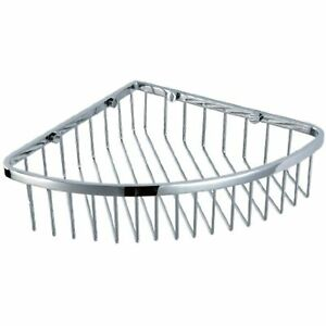 HANEABTH Stainless Steel Wall Mount Corner Shower Caddy for Bathroom, Polished